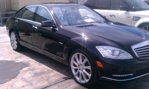 Car Detailing in La Jolla on this Mercedes S-Class