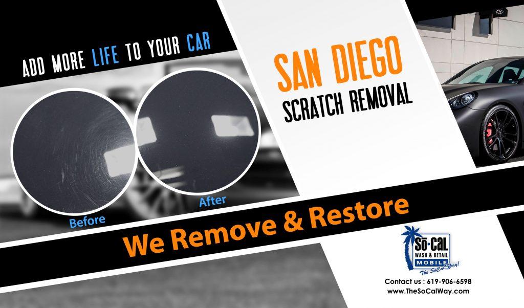 San Diego Car Scratch Removal